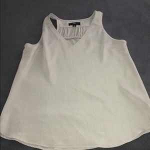 Polyester Grey Tank Top